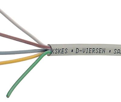 5-ledad kabel 1229