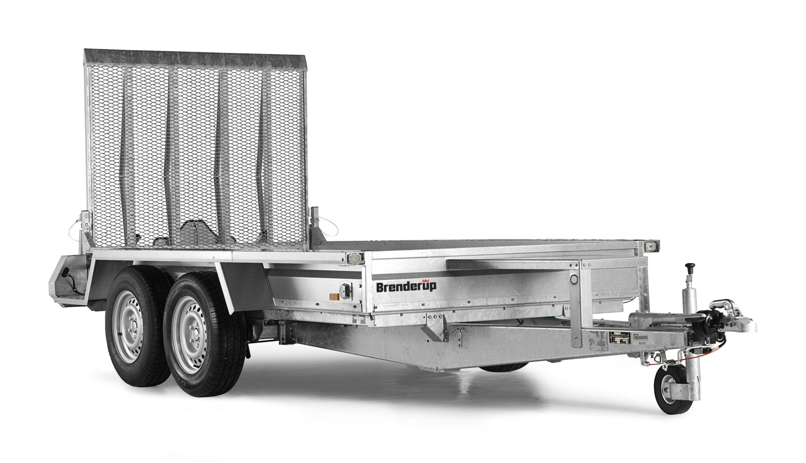 Brenderup Maskintrailer MT3080TB