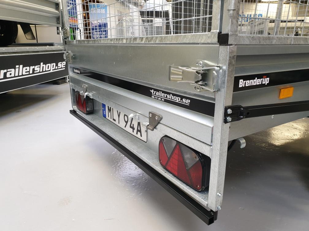 BRENDERUP FS1425U Förstärkt galler 80cm, BLACK EDITION